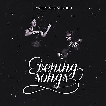 Lyrical Strings Duo - Evening Songs [CD] USA import