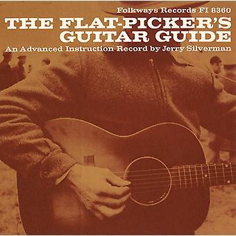 Jerry Silverman - płaskim-Picker gitara Przewodnik: import USA Advanced Instructio [CD]
