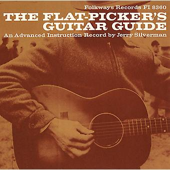 Jerry Silverman - Flat-Picker's Guitar Guide: An Advanced Instructio [CD] USA import