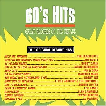 Grandes discos de la década, grandes discos de la década: importación de Estados Unidos Vol. 1-60 Hits [CD]