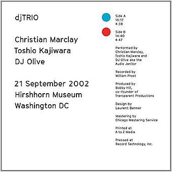 Christian Marclay, Toshio Kajiwara - 21 September 2002 [Vinyl] USA import