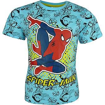 Jongens Marvel Spiderman korte mouwen T-shirt