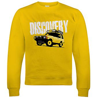 Vectorbomb, Discovery, Mens Off Roading Sweatshirt