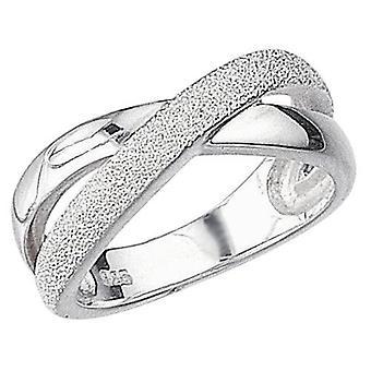 925 Silber Interlaced Ring