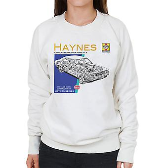 Haynes ejere Workshop Manual 0070 Ford Cortina Mk3 kvinder Sweatshirt