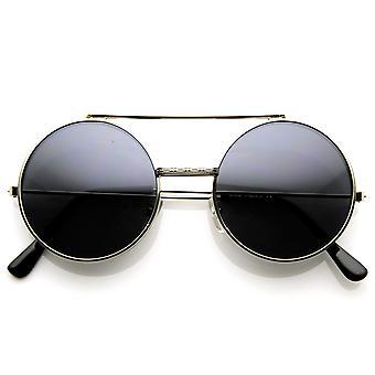 Limited Edition farve Flip-Up linse runde cirkel Django solbriller