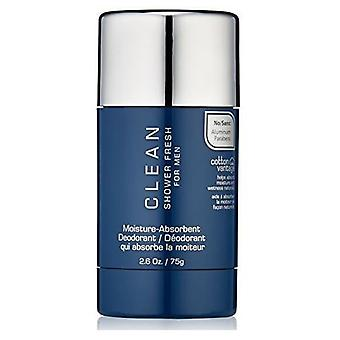 Clean Men Shower Fresh Moisture Absorbent Desodorante Stick 75 gr