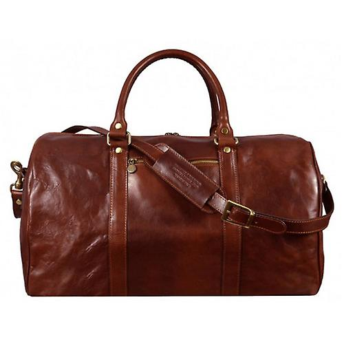 Time Resistance Ambassadors Duffel Bag - Brown
