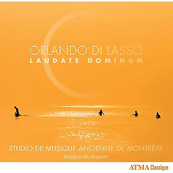 Lasso / 3Studio De Musique Ancienne De Montreal - Lasso: Laudate Dominum [CD] USA import