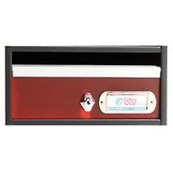 BTV Avant mailbox Red 240X250X120 G1 (DIY , Hardware , Home hardware , Mailboxes)