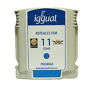 Iggual Recycled Cartridge HP C4836A No. 11 Cian (Home , Electronics , Printing , Ink)