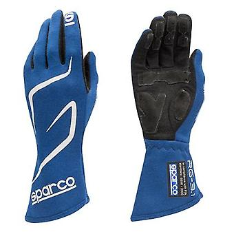 Sparco Racewear - Competition Gloves - Land RG3 00130808RS Red 8 Fits:UNIVERSAL