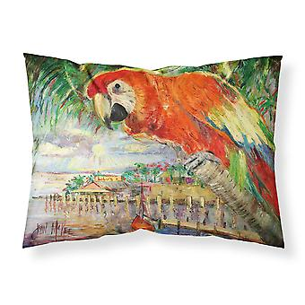 Red Parrot at Lulu's Fabric Standard Pillowcase