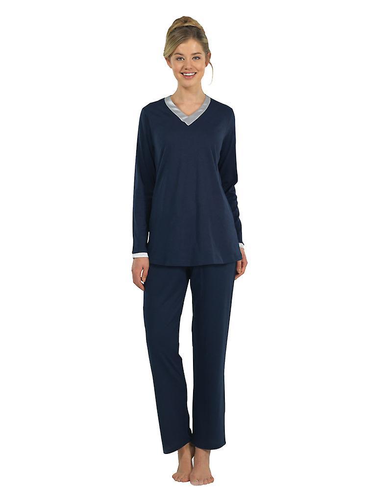 Set de Bonn pyjama marine vêtements de nuit Pyjama 6106-050 femmes