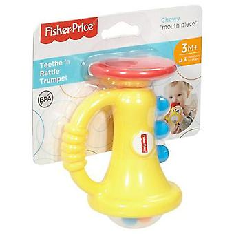 Fisher-Price Teethe 'n Rattle Trumpet (Toys , Preschool , Babies , Early Childhood Toys)