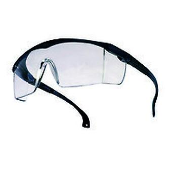 Bolle Bl13Ci Spectacles Blue Nylon Frame Pivoting Clear Anti-Scratch Lens