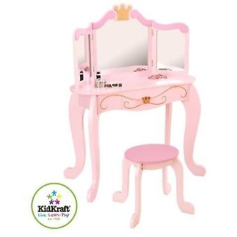 Kidkraft-Princess Dressing Table & Chair