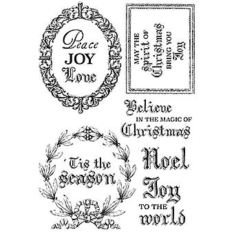Briefe an Santa Clear Stamps 6