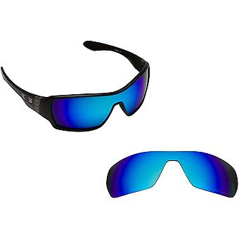 Offshoot Replacement Lenses Polarized Blue Mirror by SEEK fits OAKLEY Sunglasses