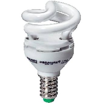 Energy-saving bulb 77 mm Megaman 230 V E14 5 W = 30 W EEC: A Spiral shape Content 1 pc(s)