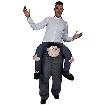 Supreme Leader Adults Fancy Dress One Size Carry Me Costume