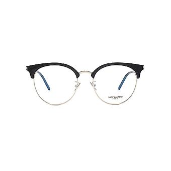 Saint Laurent SL 233/F Glasses In Black Silver