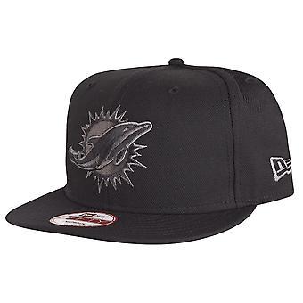 New Era 9Fifty Snapback Cap - Miami Dolphins schwarz / grau