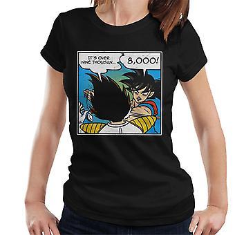 Dragonball Z über 9000 Goku Slap Damen T-Shirt