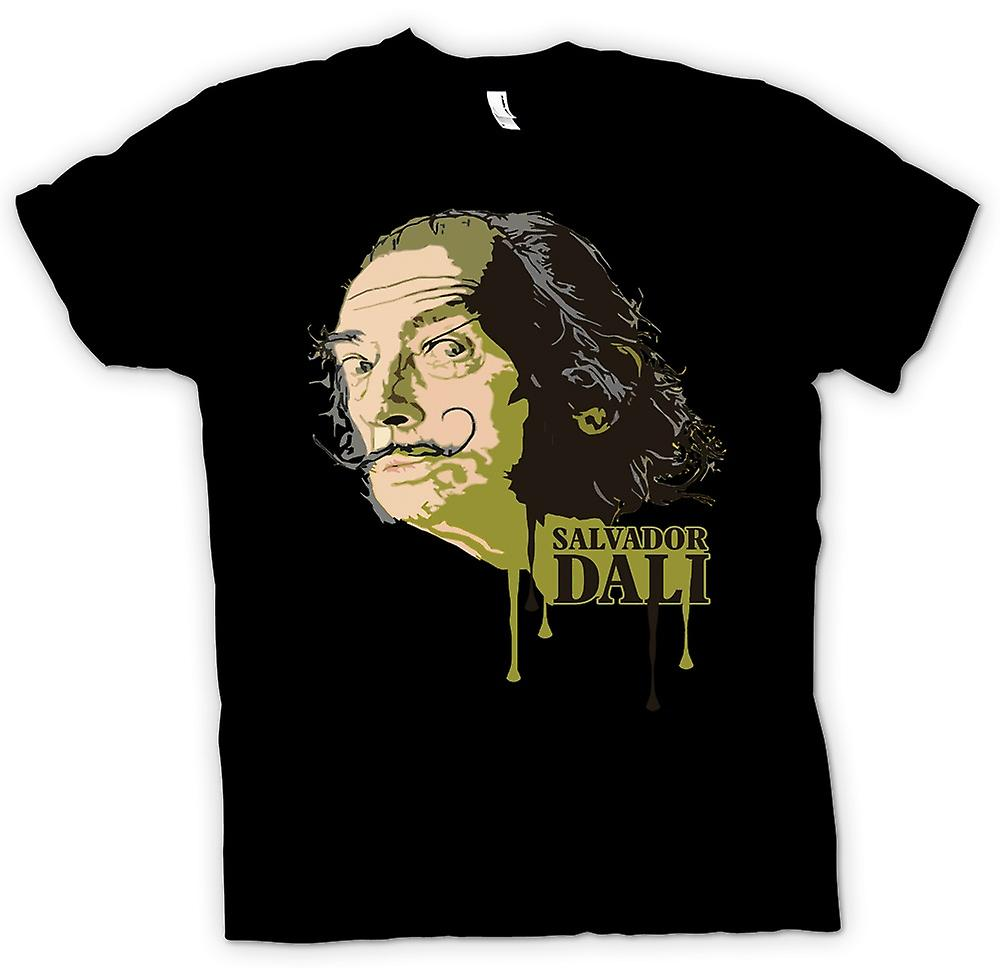 Womens T-shirt - Salvador Dali - Surreal - Artist