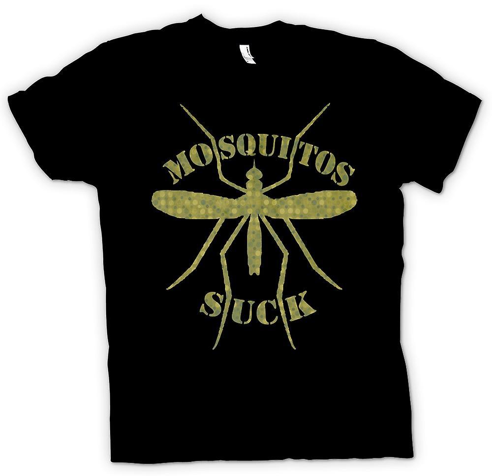 Mens T-shirt - Mosquitos Suck - Funny