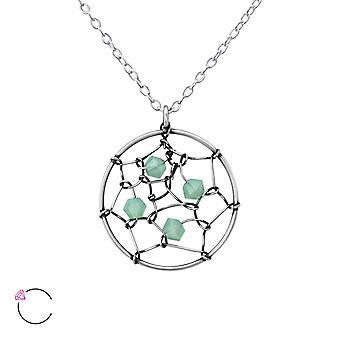 Dreamcatcher Crystal From Swarovski® - 925 Sterling Silver Necklaces - W36444x