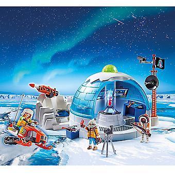 Sede de la expedición ártica de Playmobil acción