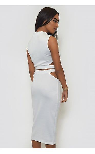 With Credit Card Sale Online Purchase Cheap Price Tempest Bodycon Skirt & Boxy Top In White The Fashion Bible Sale Sast zTTzuAvxH