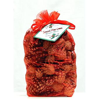 Milford indsamling vinter krydderi duftende jule kogler