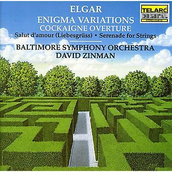 E. Elgar - Elgar: Enigma variaties; Luilekkerland Ouverture [CD] USA import