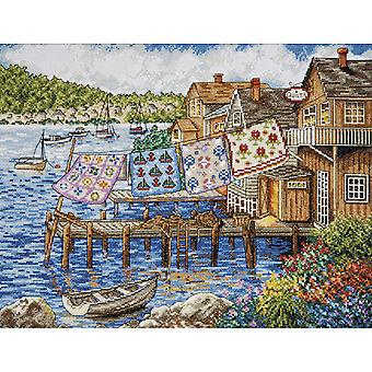 Dockside Quilts Counted Cross Stitch Kit-12