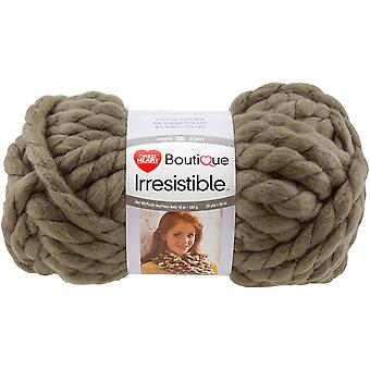 Red Heart Boutique Irresistible Yarn-Taupe