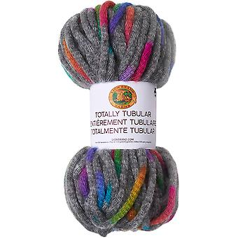 Lion Brand Totally Tubular Yarn-Oyster Shell