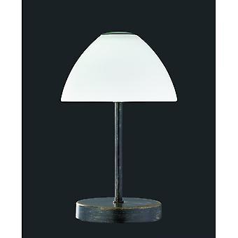 Трио освещение королеве современного антиквариата ржавчины металла настольная лампа