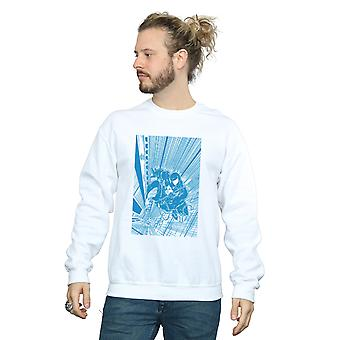 Marvel Men's Venom Comic Panel Sweatshirt
