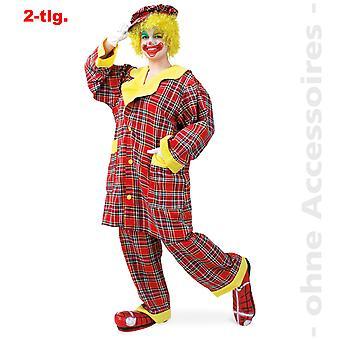 Clown Comedykostüm suit jester unisex costume