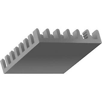 Heat sink 16.5 C/W (L x W x H) 35 x 35 x 6 mm Fischer Elektronik ICK BGA 35 X 35