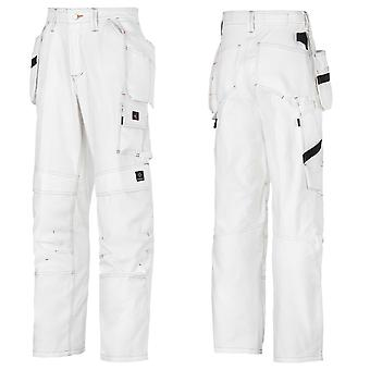 Snickers Painters Trousers with Kneepad & Holster Pockets . UK DEALER-3275