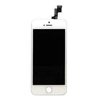 Generic Replacement LCD Screen Digitizer Assembly for iPhone 5S (White)