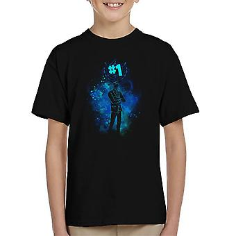 Fortnite Reaper Silhouette Kid's T-Shirt
