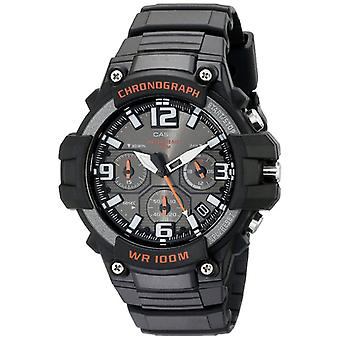 Casio MCW100H-1AVEF Mens Resin Sports Chrono Watches - Black