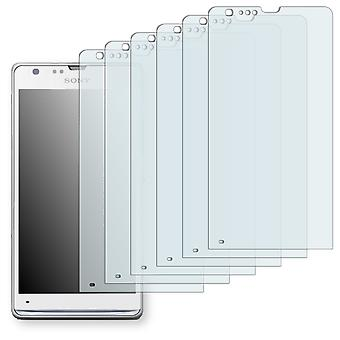 Sony Xperia M35i display protector - Golebo crystal clear protection film