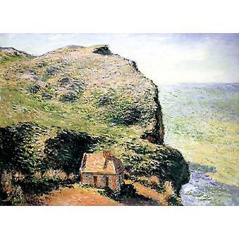 Customhouse, Varengeville, Claude Monet, 60x81cm