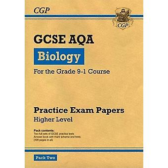 New Grade 9-1 GCSE Biology AQA Practice Papers - Higher Pack 2 by CGP