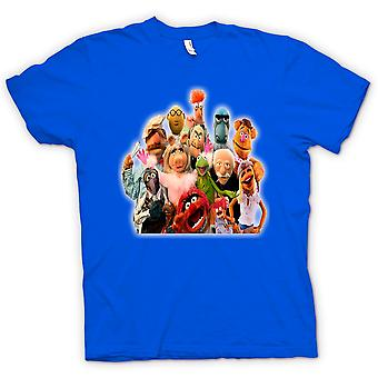 Cuadrilla de Muppets color - camiseta divertida